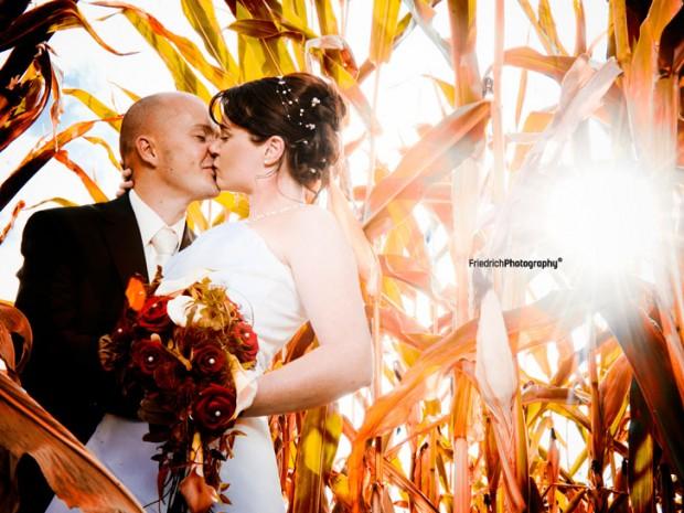 Hochzeitsfoto, Michelbach, Fotograf Aschaffenburg, Hochzeitsfotograf, Hochzeitsbilder, Kornfeld